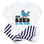 The Bird is the Word Toddler Pajamas