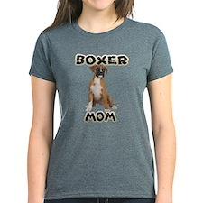 Boxer Mom Women's Dark T-Shirt