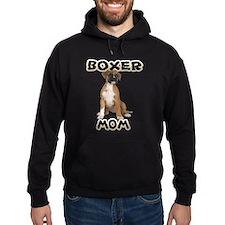 Boxer Mom Hoodie (dark)