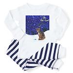 Cat Carol Toddler Pajamas