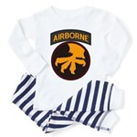 17th Airborne Toddler Pajamas