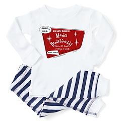 Breastaurant Toddler Pajamas