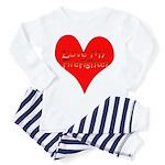 Love My Firefighter Toddler Pajamas