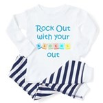 Rock Out With Your Blocks Out Toddler T-Shi