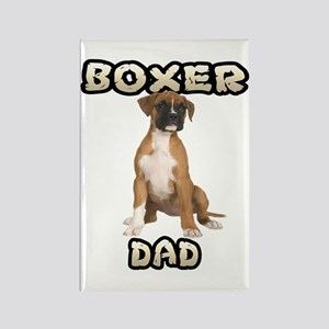 Boxer Dad Rectangle Magnet