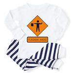 Flagman Ahead Sign - Toddler Pajamas