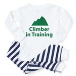 Climber in Training Infant Pajamas