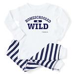 Homeschooled & Wild Toddler Pajamas