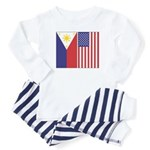 PI and US Flags Toddler Pajamas