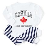 Canada Hockey Toddler Pajamas