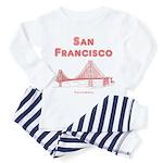 San Francisco Toddler Pajamas