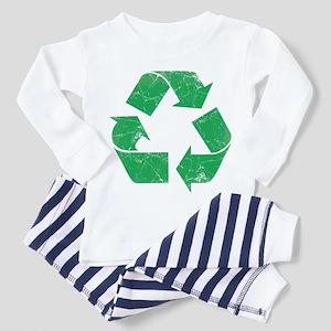 Vintage Recycle Toddler Pajamas