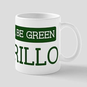 Green AMARILLO Mug