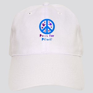 Paws for Peace Blue Cap