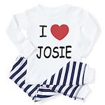 I heart josie Toddler Pajamas