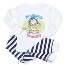 I'm not Messy...Garfield Baby Toddler T-Shi