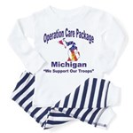 OCP Michigan Toddler Pajamas