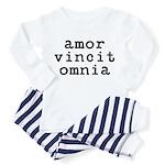 amor vincit omnia Toddler Pajamas