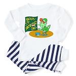 Happy St. Patricks Day Toddler Pajamas