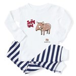 Senor Tapir Toddler Pajamas