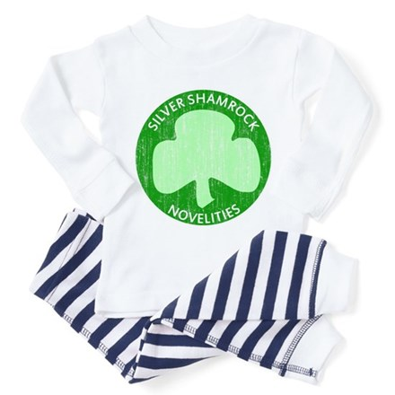 Silver Shamrock Toddler Pajamas