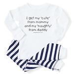 Naughty like Daddy Toddler Pajamas