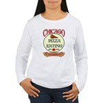 Chicago Pizza Eating Champion Women's Long Sleeve
