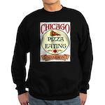 Chicago Pizza Eating Champion Sweatshirt (dark)
