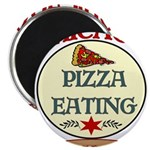 Chicago Pizza Eating Champion Magnet