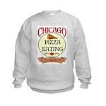 Chicago Pizza Eating Champion Kids Sweatshirt