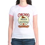 Chicago Pizza Eating Champion Jr. Ringer T-Shirt