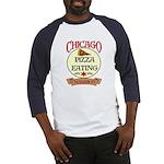 Chicago Pizza Eating Champion Baseball Jersey