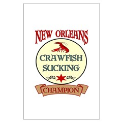 New Orleans Eating Champion Posters