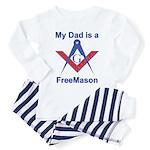 Pop is a Freemason Toddler Pajamas