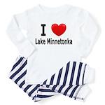 I Love Lake Minnetonka Toddler Pajamas