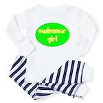 Swimmer Girl Toddler Pajamas