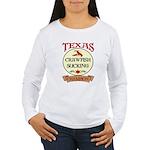 Crawfish Eating Champ Women's Long Sleeve T-Shirt