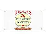 Crawfish Eating Champ Banner