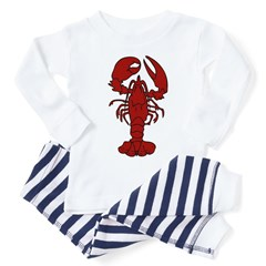 Lobster Toddler Pajamas