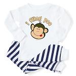 i fling poo Toddler Pajamas