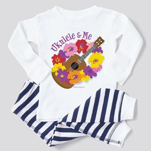 Ukulele and me Toddler Pajamas