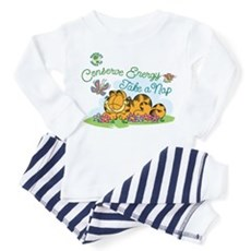 Conserve Energy Toddler Pajamas