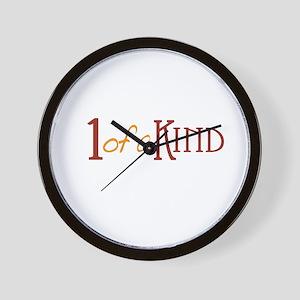 1 of a kind Wall Clock