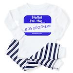 I'm the big brother Toddler Pajamas