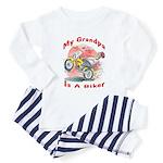 Grandpa Biker Toddler Pajamas