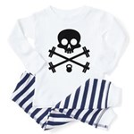 Skull and Cross Fitness Toddler Pajamas