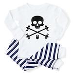 Skull and Cross Fitness Toddler Pajamas