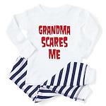 Grandma scares me Toddler Pajamas