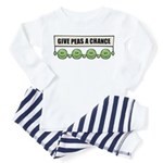 Give Peas A Chance Toddler Pajamas