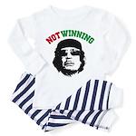 Gaddafi Not Winning Toddler Pajamas